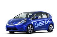 Honda Fit EV Electric Vehicle Image