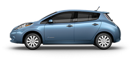Nissan LEAF SL Electric Vehicle Image