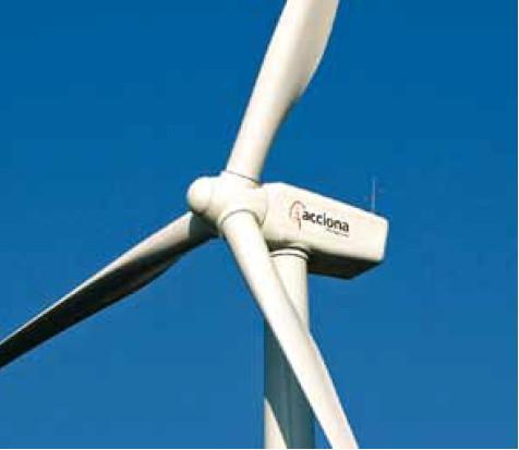 Acciona AW-70 1500kW Wind Turbine
