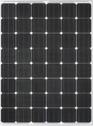 Del Solar D6M190B2A 190 Watt Solar Panel Module image
