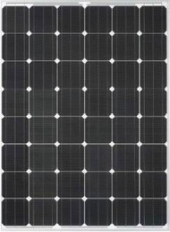 Del Solar D6M195B2A 195 Watt Solar Panel Module image