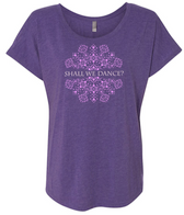 The King and I Shall We Dance Dolman - Ladies