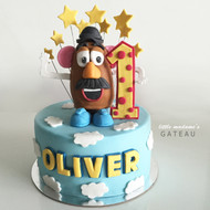 potatohead kids birthday cake