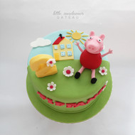 Peppa Pig Kids Birthday Cake