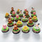 farm animals cupcakes