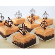 Thai Milk Tea Brownie Cheesecake