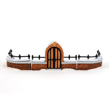 CHURCHYARD FENCE EXTENSIONS SET/4 DEPT 56 - also have the set with the gate