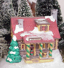 Pinewood Log Cabin - photo from our display