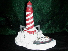 CHRISTMAS LIGHTHOUSE HL704