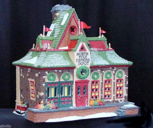 North Pole Express Depot #56278