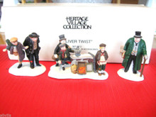 OLIVER TWIST CHARACTERS #55549 SET OF 3 - DEPT 56 DICKENS VILLAGE ACCESSORY