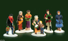 DAVID COPPERFIELD CHARACTERS #55514 DEPT 56 RETIRED DICKENS VILLAGE