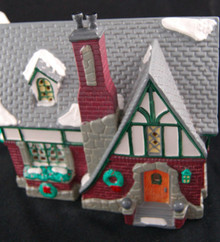 OAK GROVE TUDOR retired Dept 56 Snow Village
