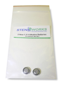 StenoWork's Batteries for Mini Microphones FREE Shipping