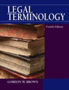 Legal Terminology Fourth Edition Used