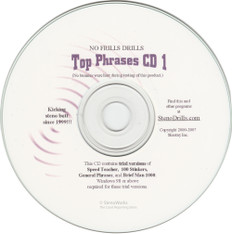 Top Phrases CD1  Great Dictation for Stenograph®