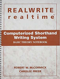 REALWRITE RT Computerized Shorthand Writing  Basic Theory Notebook ACCEPTABLE