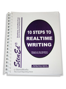 StenEd 10 Steps to Realtime Writing Like New Condition