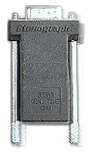 Stenograph Serial Receive Adapter Black # 30548