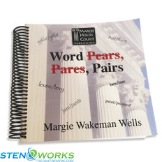 Word Pares, Pears, Pairs by Margie Wells Good Condition