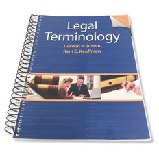 Legal Terminology Sixth Edition - Very Good Condition