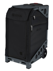 Zuca Professional Wheelie Case for Stenograph in Black - New Slate Frame