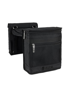 An essential for busy professionals, our Bag Caddy comes in sleek Slate/ Black. Multiple pouches mean your products are easy to get to, and a cooler pouch ensures liquid foundations, eye-liners and cleansers stay cold and fresh on summer shoots – it's also the perfect place to keep food and drink if you're booked for an all-day shoot in the sun! Use this convenient makeup pouch solo during small jobs or attach it to the top of your Pro Frame to keep go-to tools close at hand.