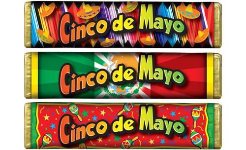 Cinco de Mayo Chocolate Bars Carton
