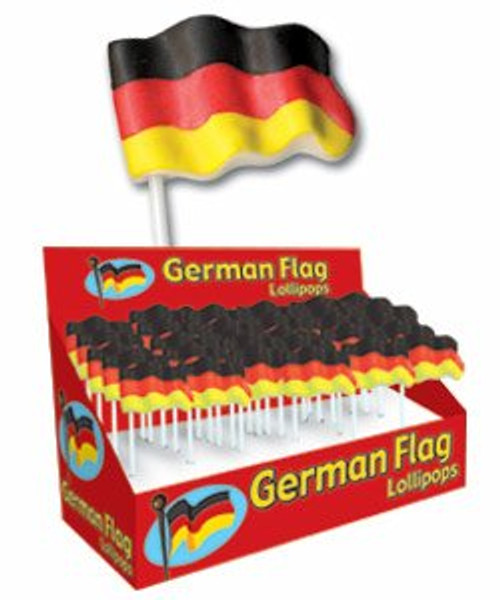 German Flag Lollipops
