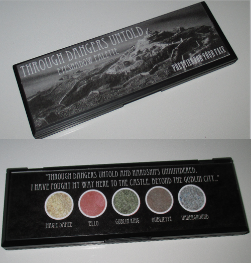 Through Dangers Untold Eyeshadow Palette
