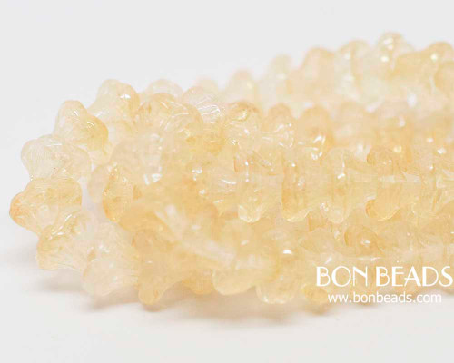 7x5mm Crystal Champagne Flower Cups (300 Pieces)