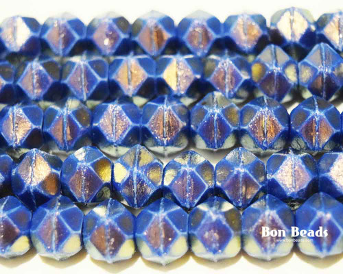 10mm Pantone Cerulean Oro English Cuts (150 Pieces)