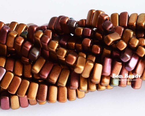 3x6mm Dark Metallic Iris Mix 2 Hole Bricks (600 Pieces)