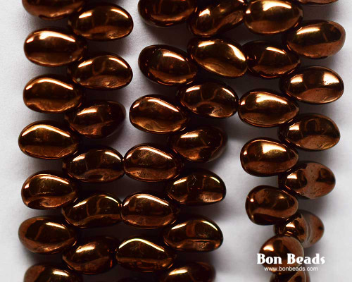 4x6mm Dark Bronze  Curved Tooth (300 Pieces)