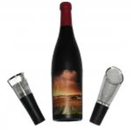 3 Piece Wine Bottle-Shaped Corkscrew Gift Set