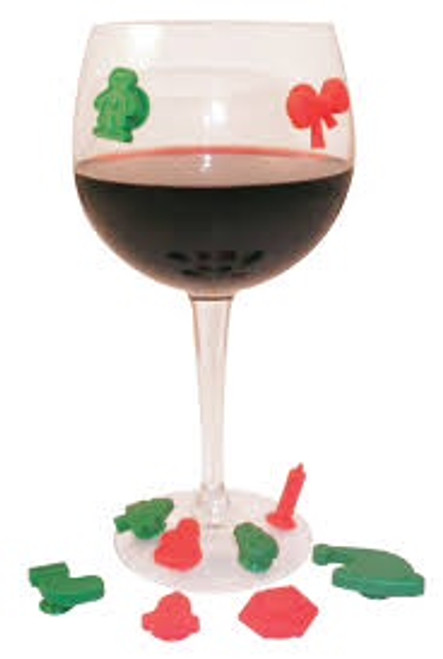 Silicone Wine or Drink Marker with Suction Cup
