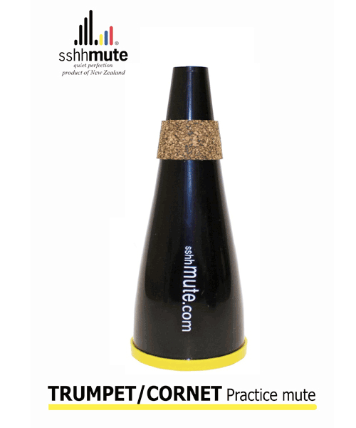 Sshhmute for Trumpet/Cornet Practice Mute