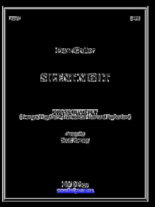 Silent Night Brass Quartet (Gruber/arr. Ramsey) PDF Download