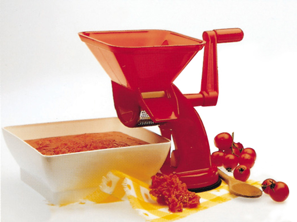 Rigamonti Velox Tomato Press with Square Bowl (R-67)