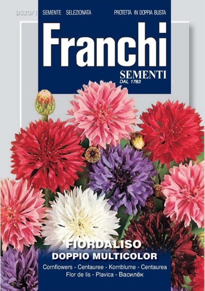 Cornflower/ Fiordaliso Doppio (320-1)