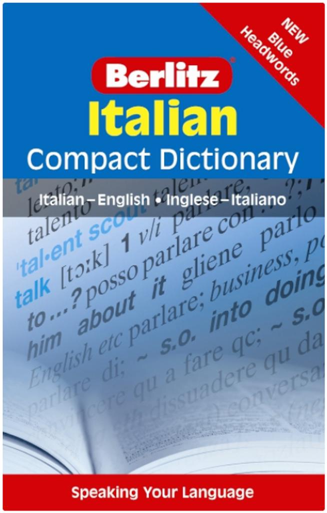 Berlitz Italian Compact Dictionary: Italian-English/Inglese-Italiano