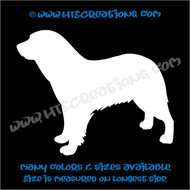 Dog Breed Aidi Vinyl Decal Sticker Animal Lover Rescue Canine