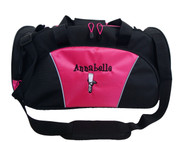 Ghillie Girl Shoes Celtic Jig Irish Dance Personalized Embroidered HOT TROPICAL PINK Duffel Bag Font Style GIRLZ