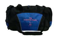 Doula Midwife Nursing Belly Heart Pregnancy Mother Baby Mom Birthing Nurse Personalized ROYAL BLUE Duffel Bag FONT Style CHILDS PLAY