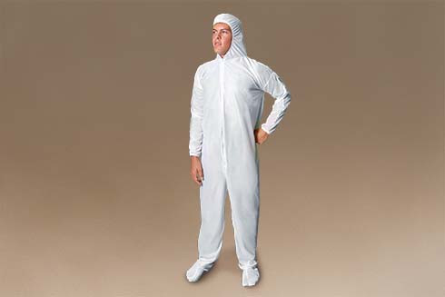 BodySafe Inspection Suit protects you while inspecting for bed bugs