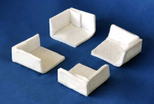 Bed-Frame Corner Protectors - Protect your Box Spring encasement from rubbing and wear.
