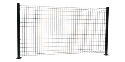 Black Handy Mesh Fence Panel