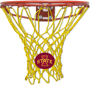 Iowa State University Golden Yellow Basketball Net