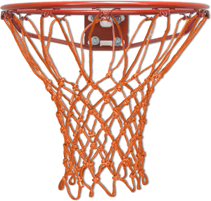 Krazy Netz Burnt Orange Basketball Net