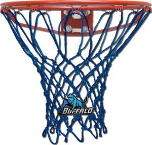Buffalo University Blue Basketball Net
